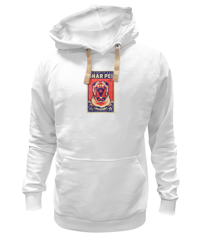 Printio Толстовка Wearcraft Premium унисекс Собака: shar pei футболка wearcraft premium slim fit printio собака shar pei