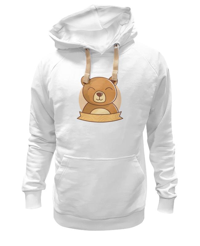 Printio Толстовка Wearcraft Premium унисекс Спящий медвежонок printio футболка wearcraft premium slim fit спящий медвежонок
