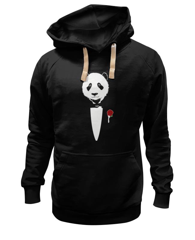 Printio Толстовка Wearcraft Premium унисекс Panda godfather printio футболка wearcraft premium panda godfather
