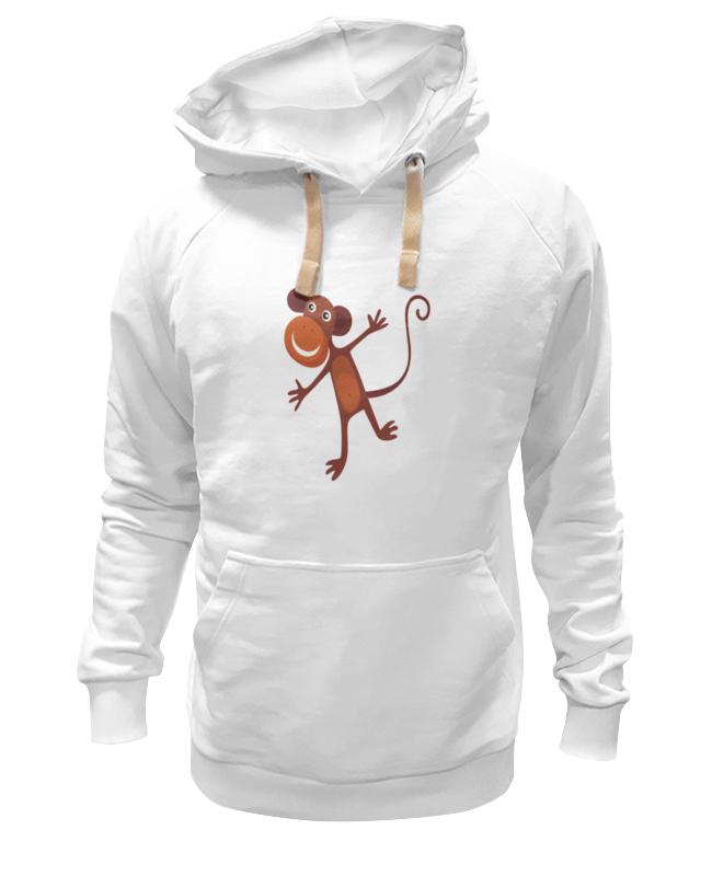 Printio Толстовка Wearcraft Premium унисекс Веселая обезьяна