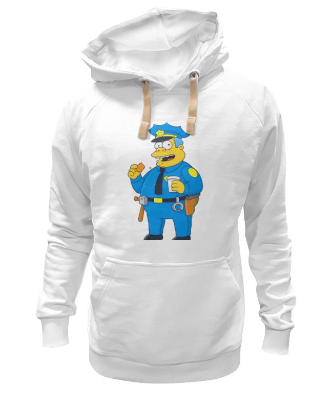 Printio Толстовка Wearcraft Premium унисекс Полицейский из симпсонов