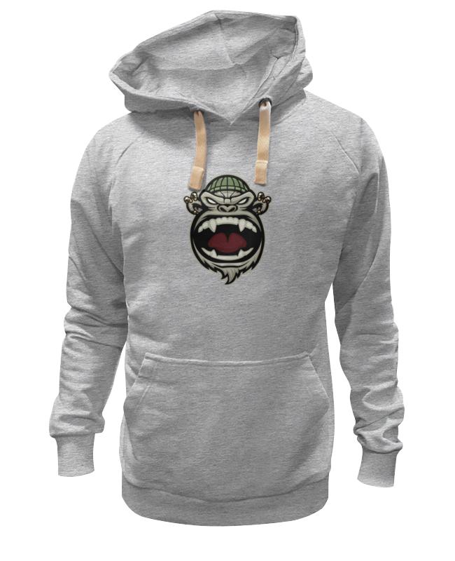 Printio Толстовка Wearcraft Premium унисекс Обезьяна (monkey)
