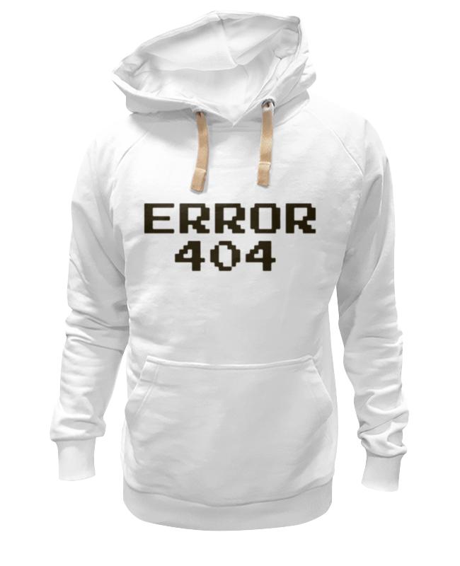 Printio Толстовка Wearcraft Premium унисекс Ошибка 404