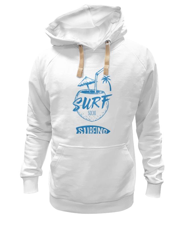 Printio Толстовка Wearcraft Premium унисекс Сочи серфинг