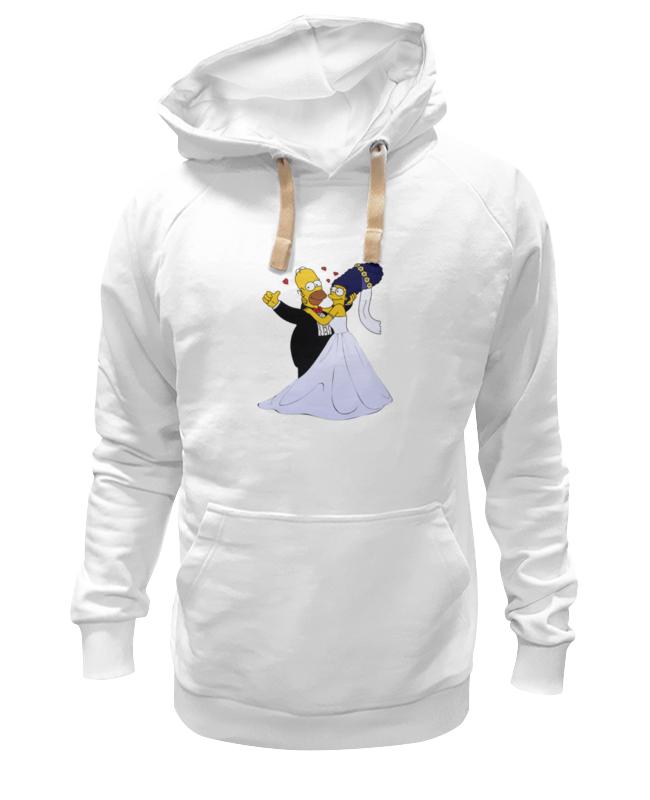 Printio Толстовка Wearcraft Premium унисекс Симпсоны- свадьба