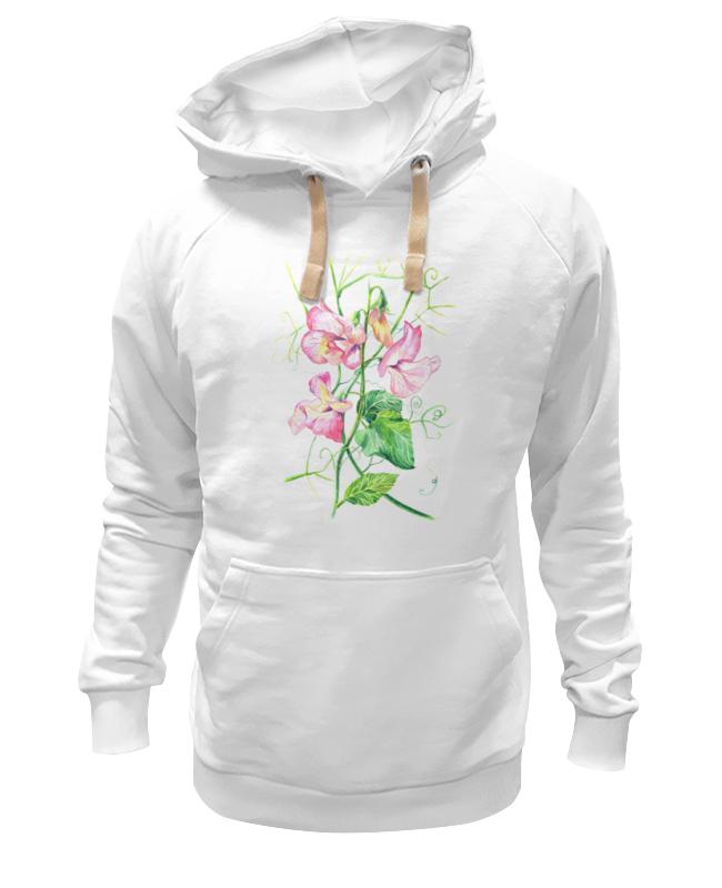 Printio Толстовка Wearcraft Premium унисекс Цветы душистый горошек