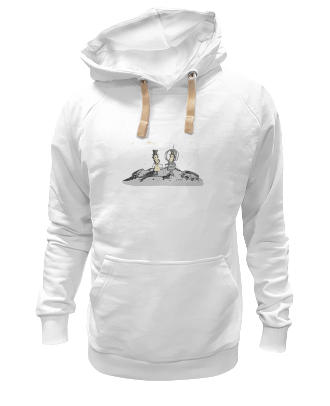 Printio Толстовка Wearcraft Premium унисекс Пушкин и доппельгангер printio детская футболка классическая унисекс пушкин и доппельгангер