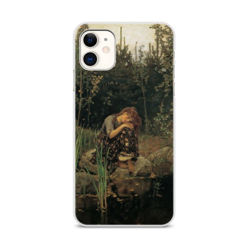 Printio Чехол для iPhone 11, объёмная печать Алёнушка (картина васнецова)