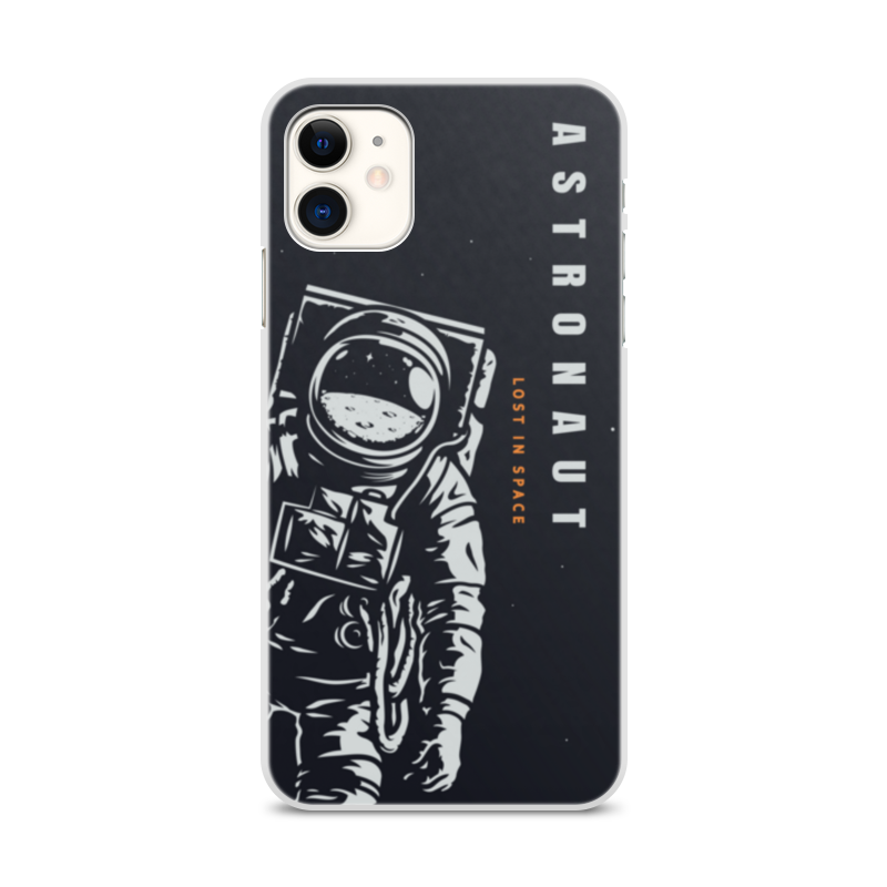 Printio Чехол для iPhone 11, объёмная печать Lost in space