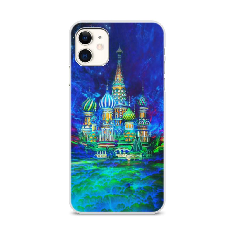 Printio Чехол для iPhone 11, объёмная печать Москва