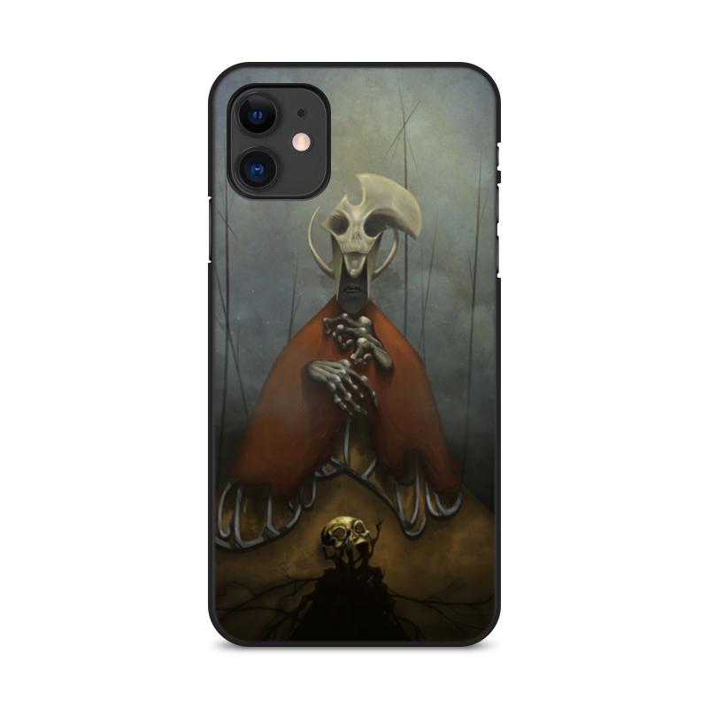 Printio Чехол для iPhone 11, объёмная печать Существо чехол