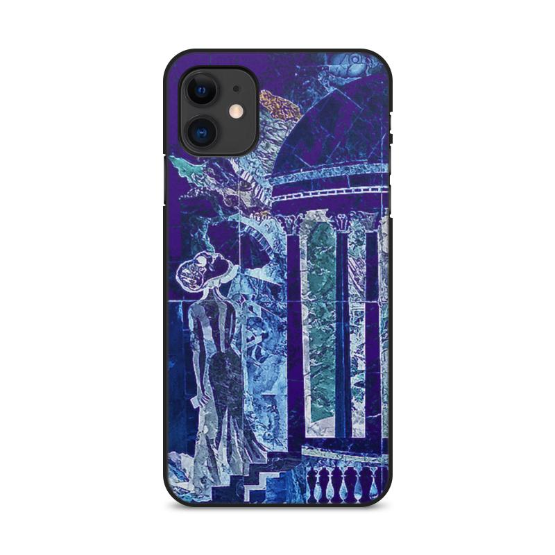 Printio Чехол для iPhone 11, объёмная печать Ночное рандеву.