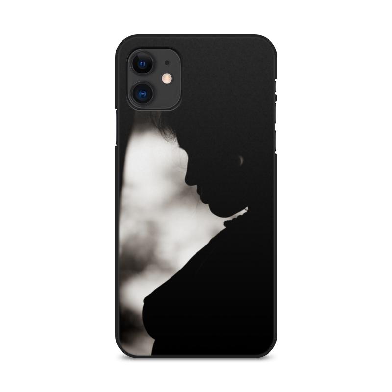 Printio Чехол для iPhone 11, объёмная печать Прелестная незнакомка чехол