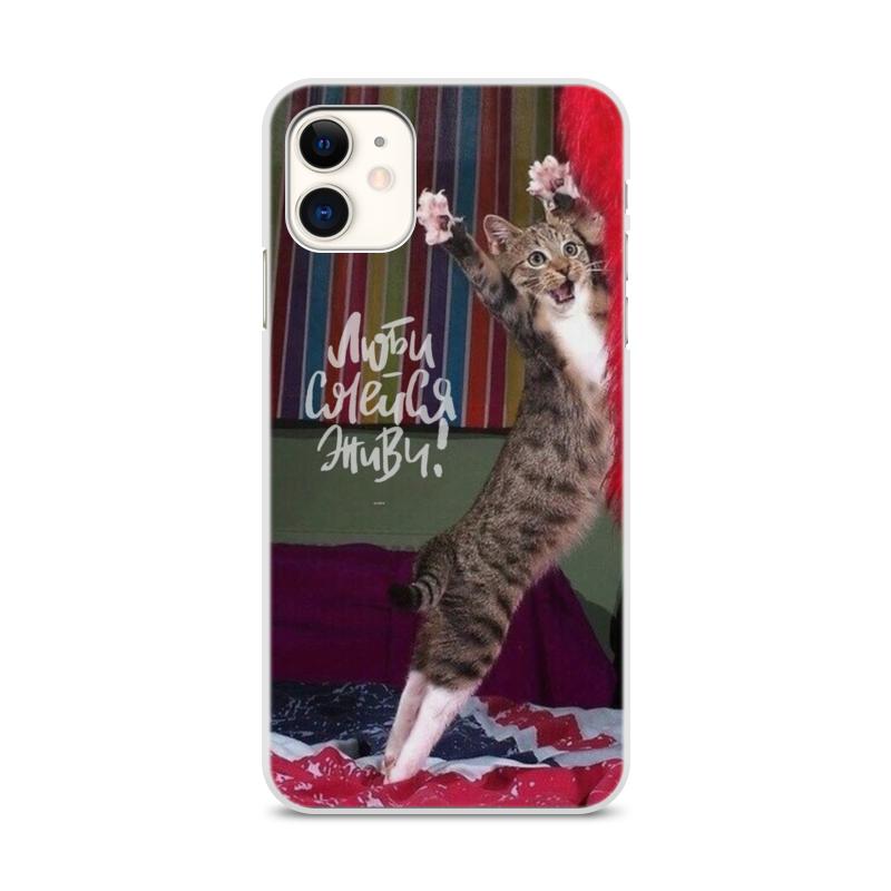 Printio Чехол для iPhone 11, объёмная печать Танцор диско чехол