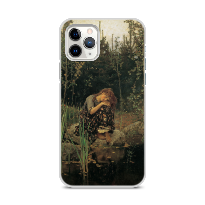 Printio Чехол для iPhone 11 Pro, объёмная печать Алёнушка (картина васнецова)