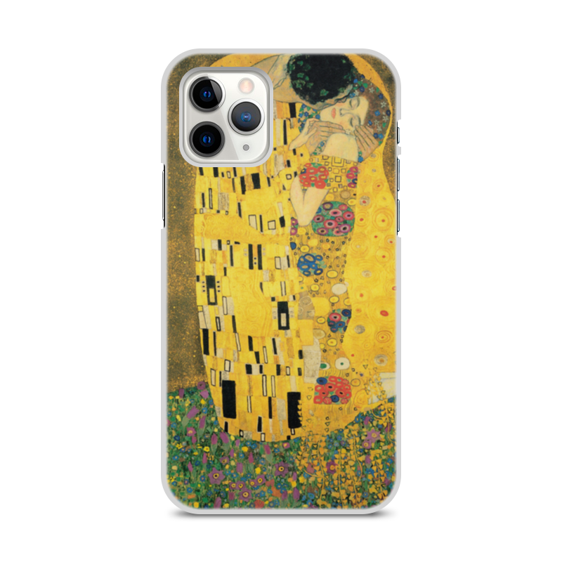 Фото - Printio Чехол для iPhone 11 Pro, объёмная печать Поцелуй (картина климта) printio чехол для iphone 7 plus объёмная печать поцелуй картина климта