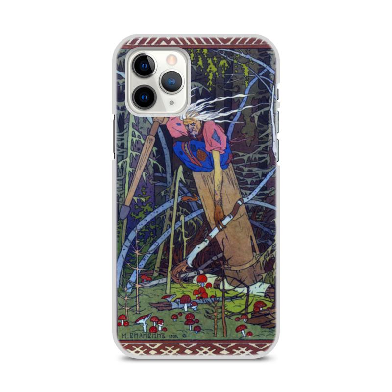 Printio Чехол для iPhone 11 Pro, объёмная печать Баба яга (иван билибин)