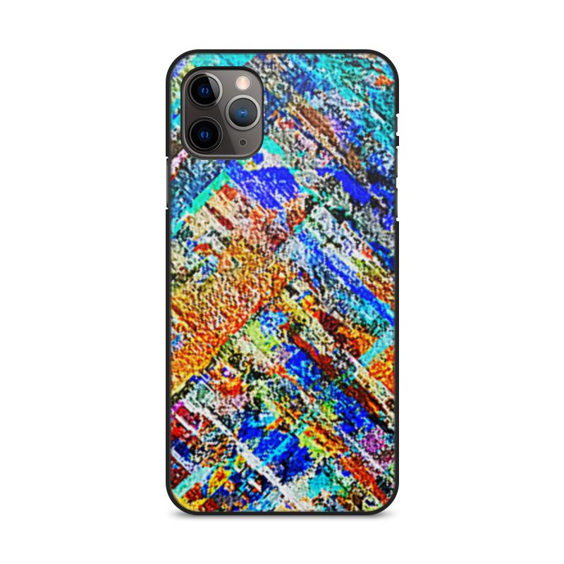 Фото - Printio Чехол для iPhone 11 Pro Max, объёмная печать Лоскутки. printio чехол для iphone 11 pro max объёмная печать восточный орнамент