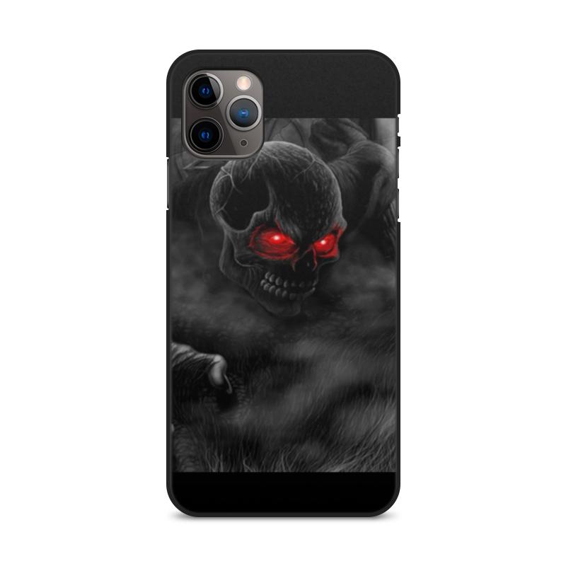 Фото - Printio Чехол для iPhone 11 Pro Max, объёмная печать Чехол череп printio чехол для iphone 11 pro max объёмная печать восточный орнамент