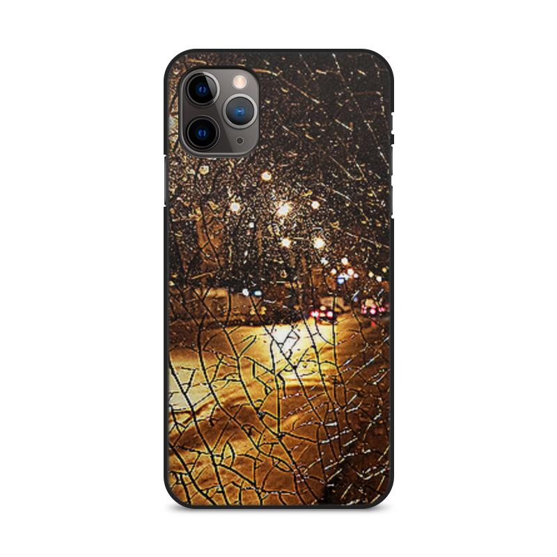 Фото - Printio Чехол для iPhone 11 Pro Max, объёмная печать Ночные улицы. printio чехол для iphone 11 pro max объёмная печать восточный орнамент