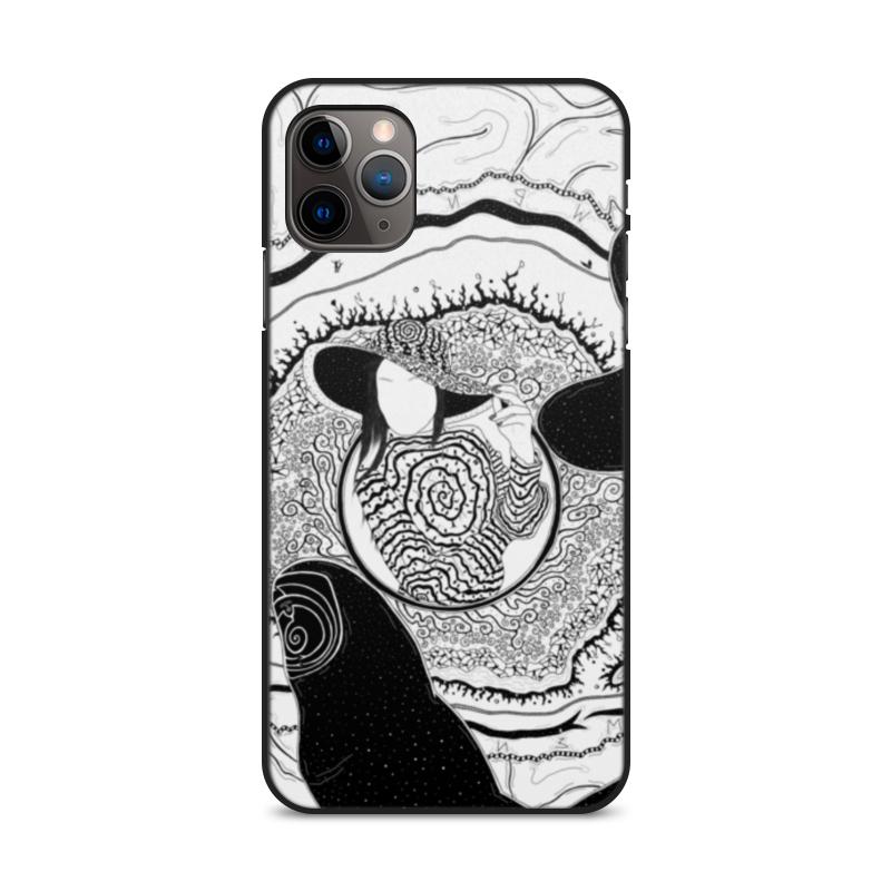 Фото - Printio Чехол для iPhone 11 Pro Max, объёмная печать Загадка бифуркация printio чехол для iphone 11 pro max объёмная печать восточный орнамент