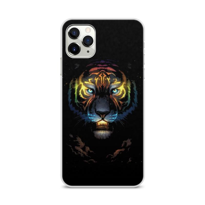Фото - Printio Чехол для iPhone 11 Pro Max, объёмная печать Тигры printio чехол для iphone 11 pro max объёмная печать восточный орнамент