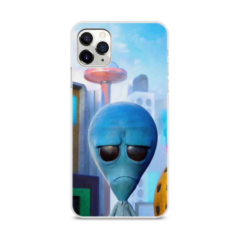 Фото - Printio Чехол для iPhone 11 Pro Max, объёмная печать Инопланетянин printio чехол для iphone 11 pro max объёмная печать восточный орнамент
