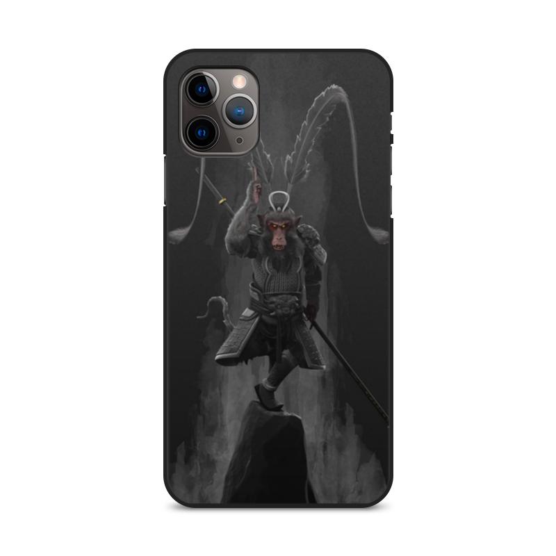 Фото - Printio Чехол для iPhone 11 Pro Max, объёмная печать Царь обезьян printio чехол для iphone 11 pro max объёмная печать восточный орнамент