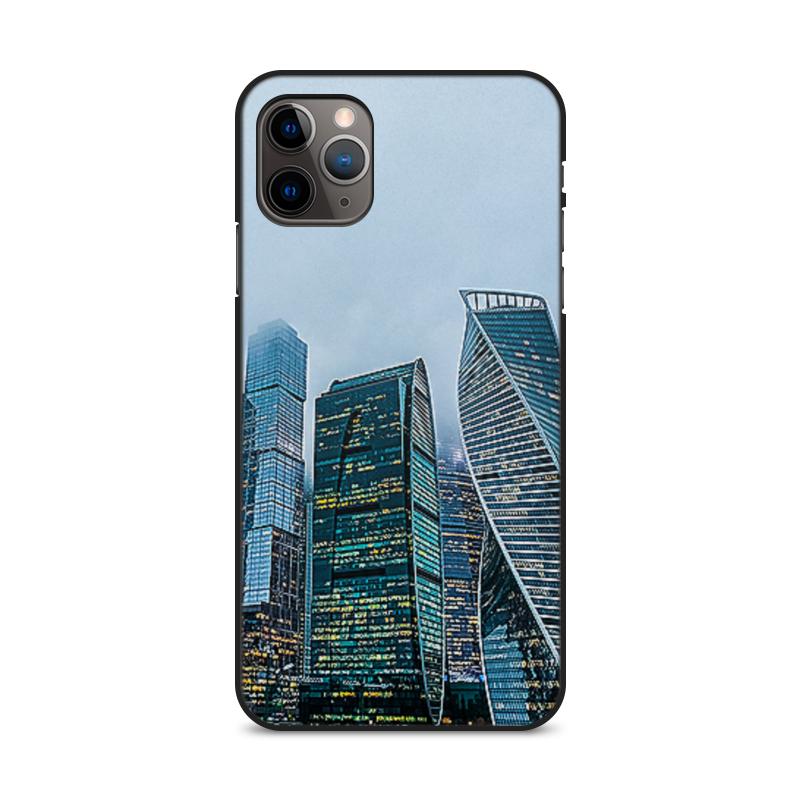 Фото - Printio Чехол для iPhone 11 Pro Max, объёмная печать Большой город. printio чехол для iphone 11 pro max объёмная печать восточный орнамент