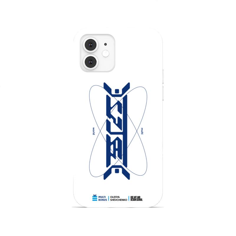 Printio Чехол для iPhone 12, объёмная печать Чехол мультивселенные коллаб со школой дизайна