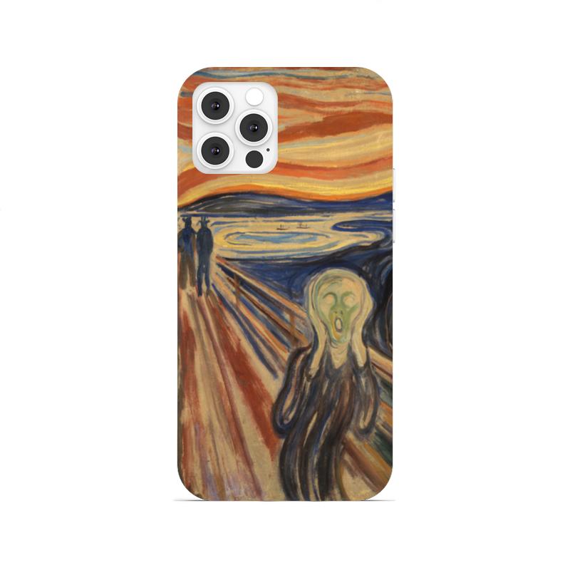 Printio Чехол для iPhone 12 Pro, объёмная печать Крик (эдвард мунк) printio чехол для iphone 7 объёмная печать крик эдвард мунк