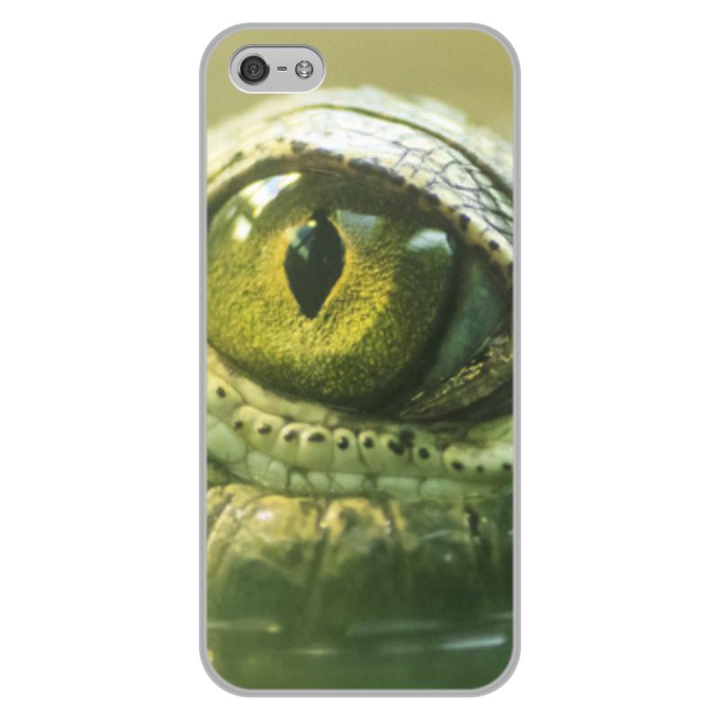 Printio Чехол для iPhone 5/5S, объёмная печать Рептилии