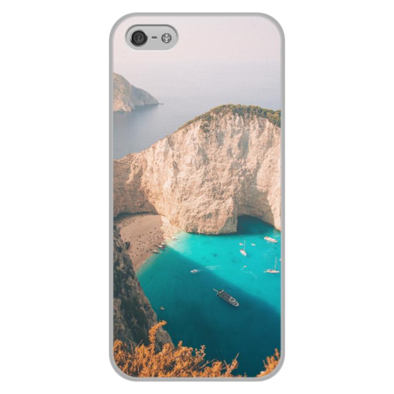 Printio Чехол для iPhone 5/5S, объёмная печать Summer time!