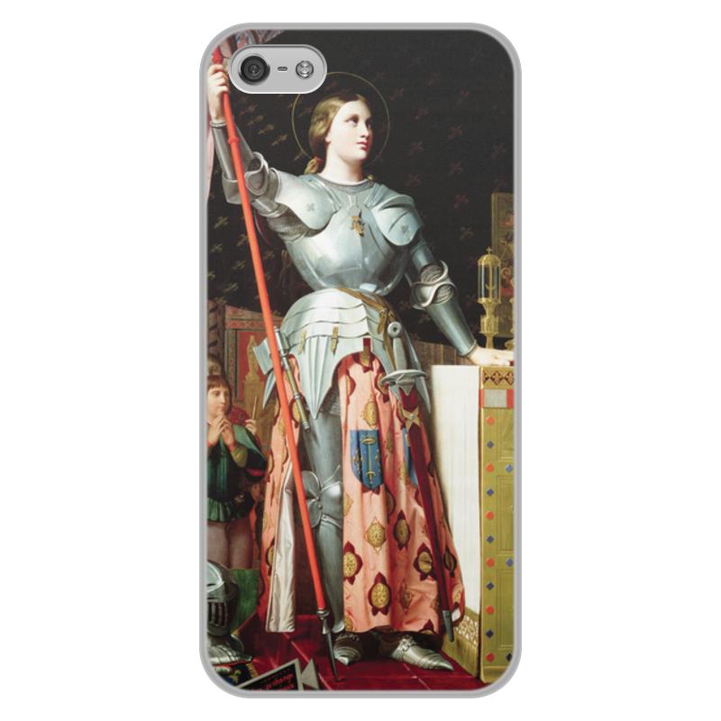 Фото - Printio Чехол для iPhone 5/5S, объёмная печать Жанна д'арк на коронации карла vii (энгр) printio чехол для iphone 5 5s объёмная печать жанна д'арк на коронации карла vii энгр