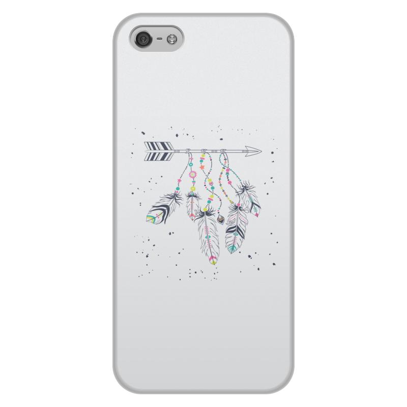 Printio Чехол для iPhone 5/5S, объёмная печать Стрела