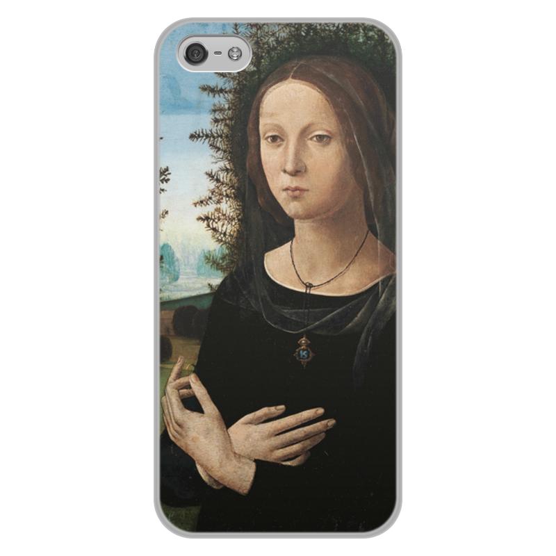 Фото - Printio Чехол для iPhone 5/5S, объёмная печать Портрет молодой женщины (лоренцо креди) printio чехол для iphone x xs объёмная печать портрет молодой женщины боттичелли