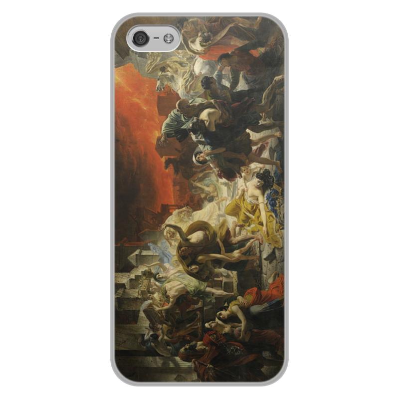 Printio Чехол для iPhone 5/5S, объёмная печать Последний день помпеи (картина брюллова)