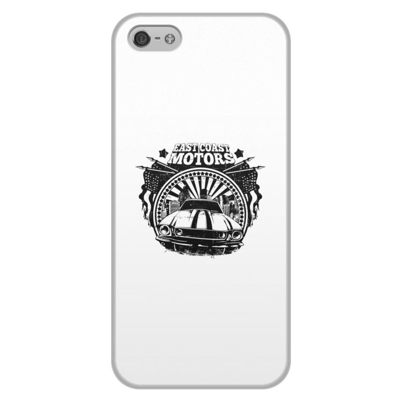 Printio Чехол для iPhone 5/5S, объёмная печать East coast motors printio чехол для iphone 6 объёмная печать east coast motors
