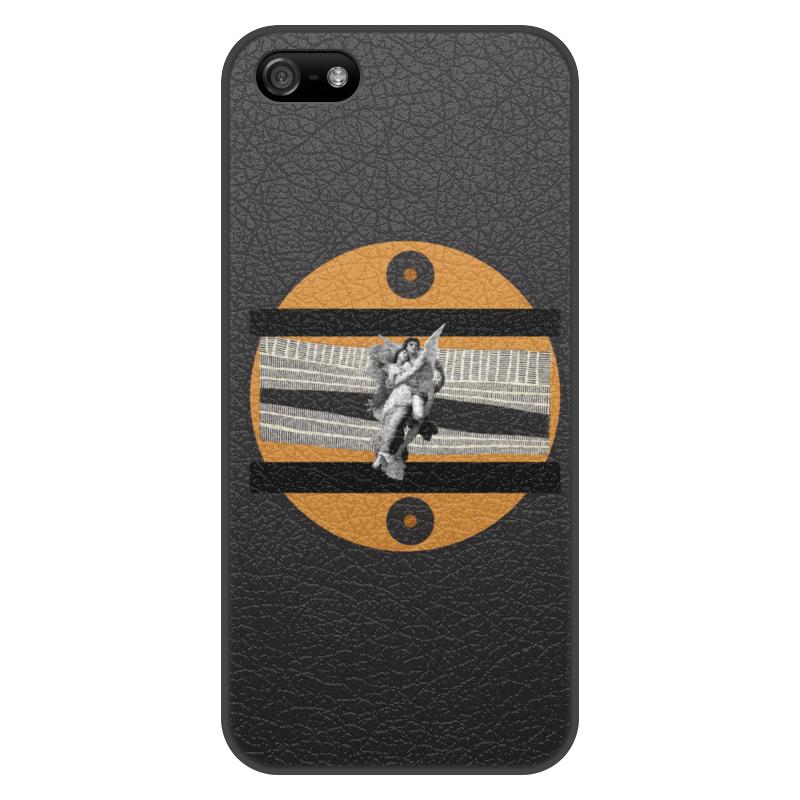 Фото - Printio Чехол для iPhone 5/5S, объёмная печать Любовь printio чехол для iphone 5 5s объёмная печать жанна д'арк на коронации карла vii энгр