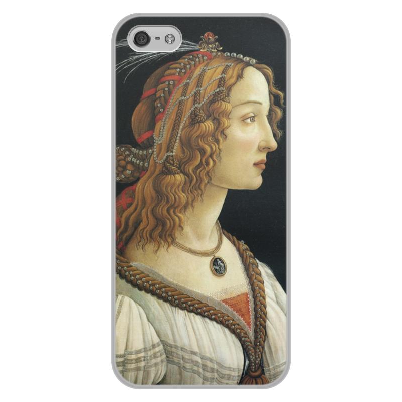 Фото - Printio Чехол для iPhone 5/5S, объёмная печать Портрет молодой женщины (боттичелли) printio чехол для iphone x xs объёмная печать портрет молодой женщины боттичелли