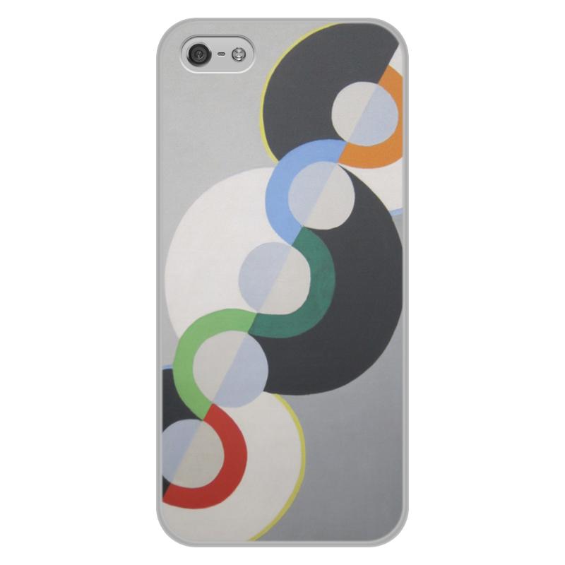 Фото - Printio Чехол для iPhone 5/5S, объёмная печать Бесконечный ритм (робер делоне) printio чехол для iphone x xs объёмная печать бесконечный ритм робер делоне