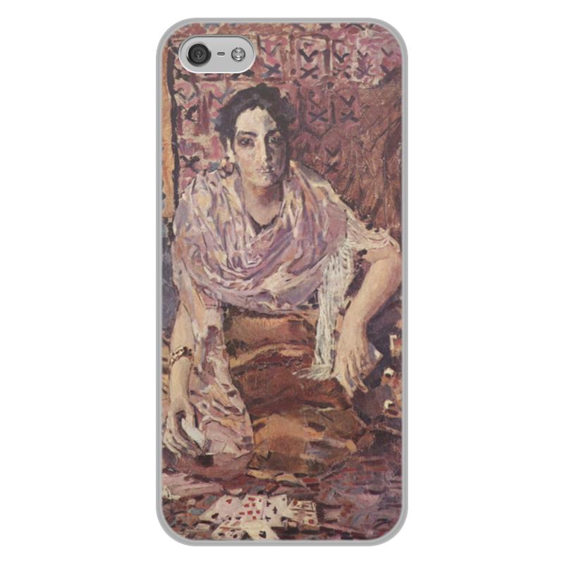 Printio Чехол для iPhone 5/5S, объёмная печать Гадалка (михаил врубель)
