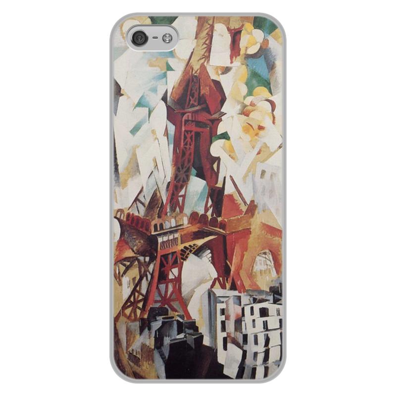Фото - Printio Чехол для iPhone 5/5S, объёмная печать Эйфелева башня (робер делоне) делоне н б нелинейная оптика
