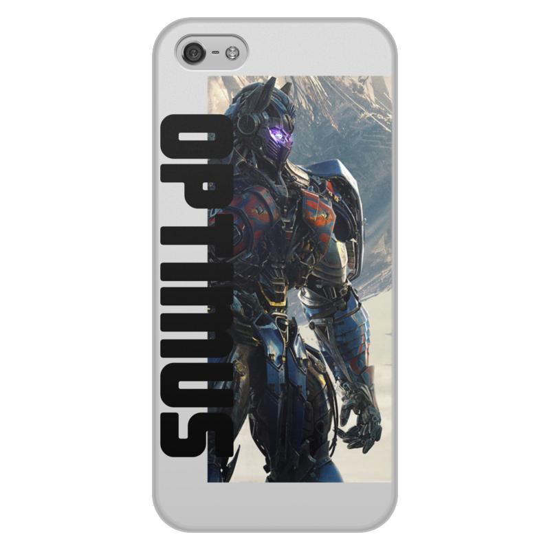 Printio Чехол для iPhone 5/5S, объёмная печать Optimus.