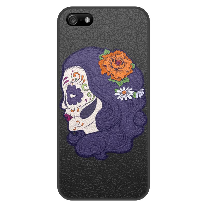 Printio Чехол для iPhone 5/5S, объёмная печать Девушка printio чехол для iphone 5 5s объёмная печать царь николай ii борис кустодиев