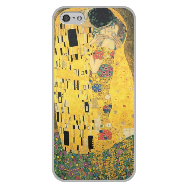 Фото - Printio Чехол для iPhone 5/5S, объёмная печать Поцелуй (картина климта) printio чехол для iphone 7 plus объёмная печать поцелуй картина климта