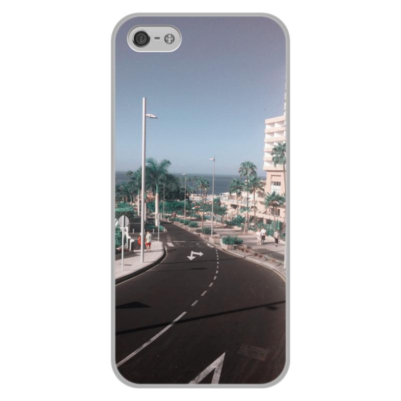 Printio Чехол для iPhone 5/5S, объёмная печать Тенерифе