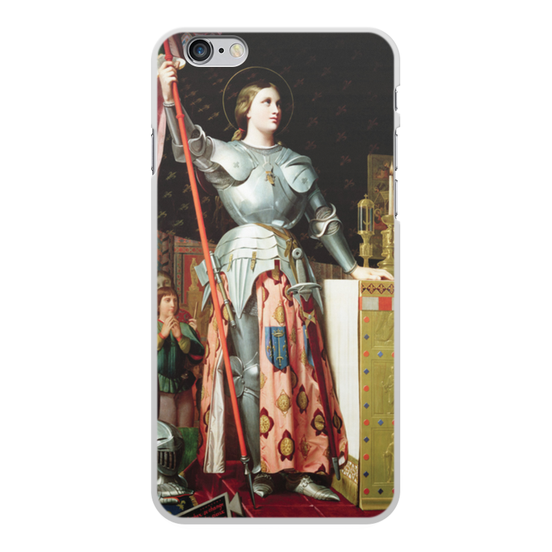 Фото - Printio Чехол для iPhone 6 Plus, объёмная печать Жанна д'арк на коронации карла vii (энгр) printio чехол для iphone 5 5s объёмная печать жанна д'арк на коронации карла vii энгр