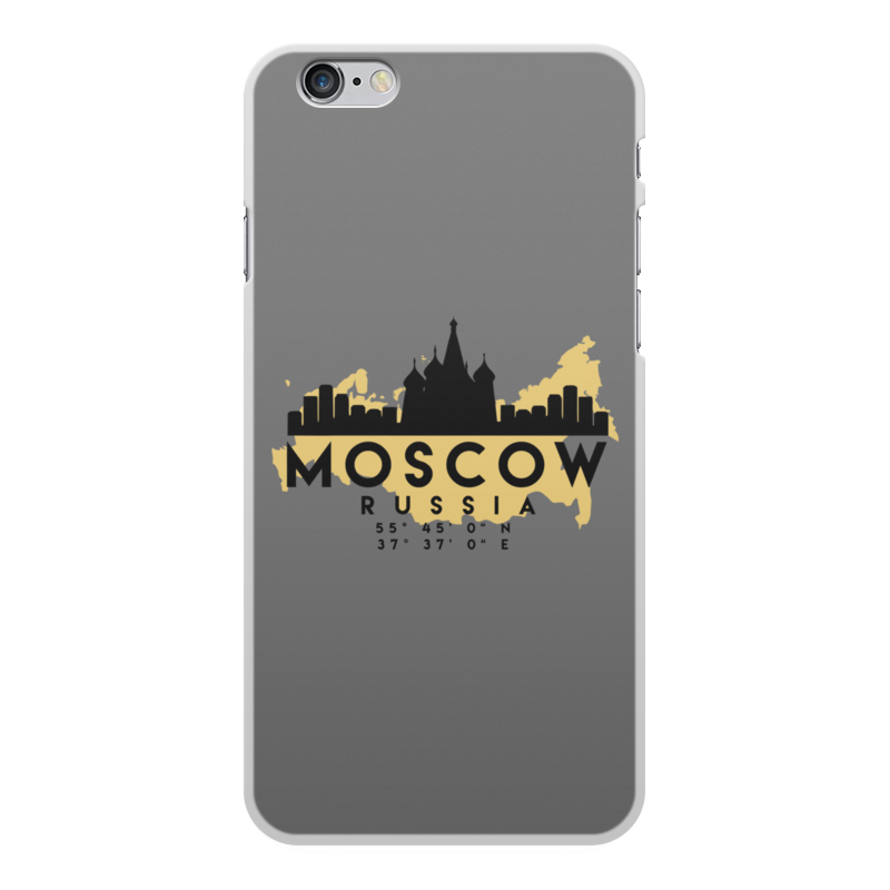 Printio Чехол для iPhone 6 Plus, объёмная печать Москва (россия)