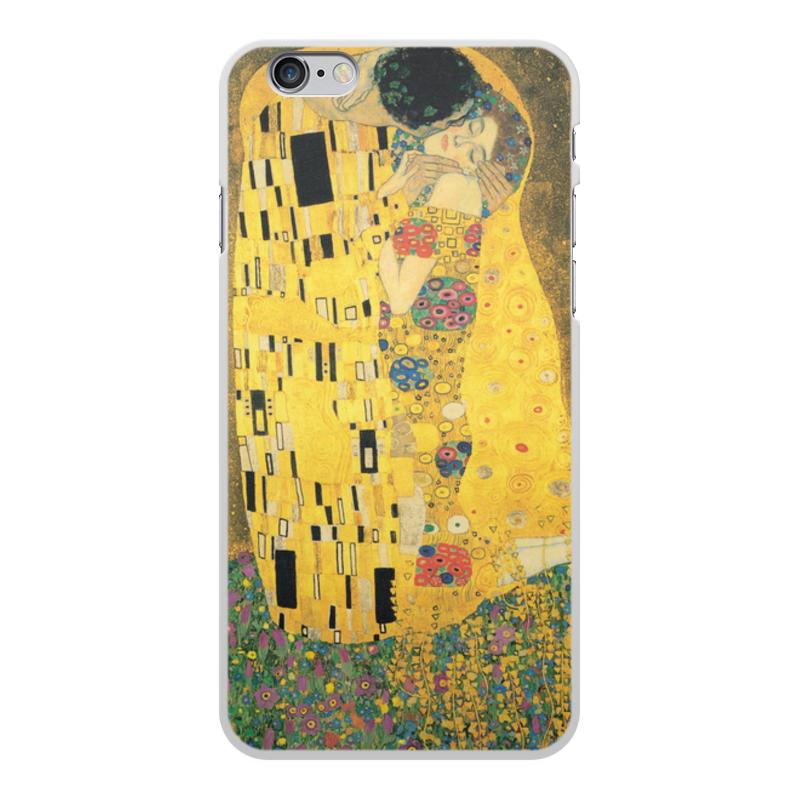 Фото - Printio Чехол для iPhone 6 Plus, объёмная печать Поцелуй (картина климта) printio чехол для iphone 7 plus объёмная печать поцелуй картина климта